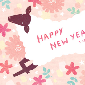 年賀状 2015 インプレス マール社