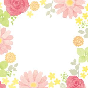 アクセサリー台紙 REMONE 花柄