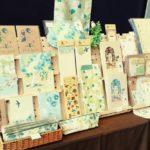 花と鳥のイラスト雑貨翠鳥庭 出展イメージ