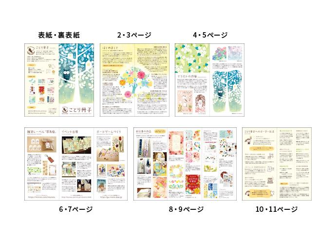 ことり冊子3 内容