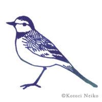 スタンプ風イラスト 野鳥